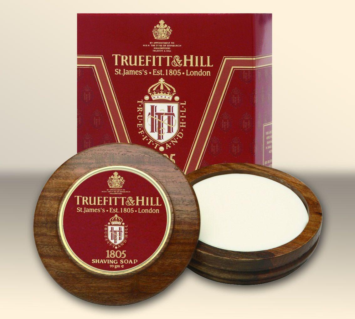 Truefitt&Hill 1805 Shaving Soap w drewnianym tyglu