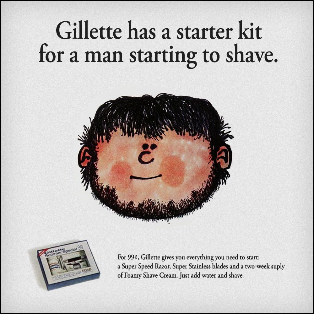 Reklama Gillette (żródło: Gillette)