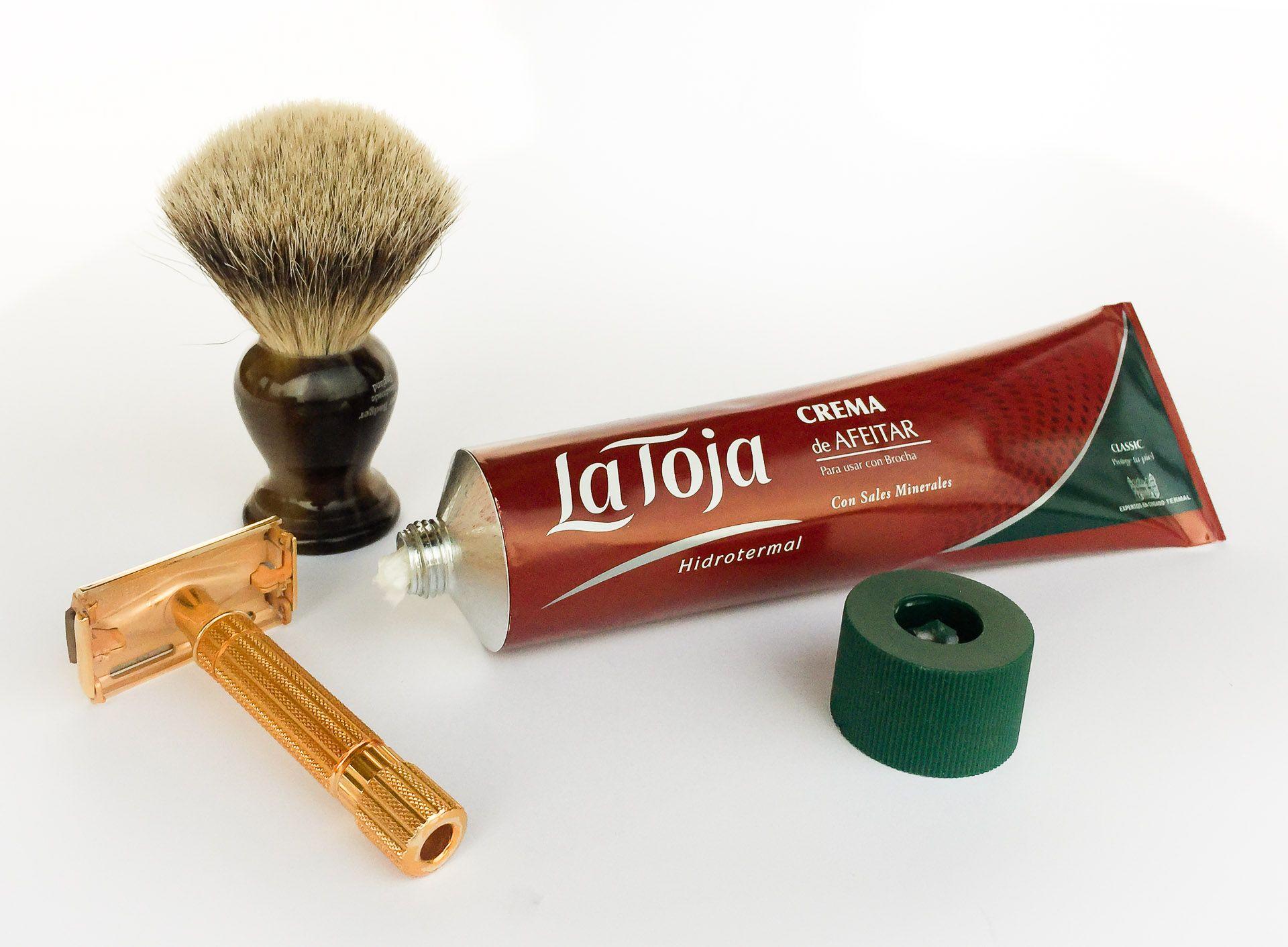 Kremu do golenia La Toja Crema de Afeitar (shaving cream)