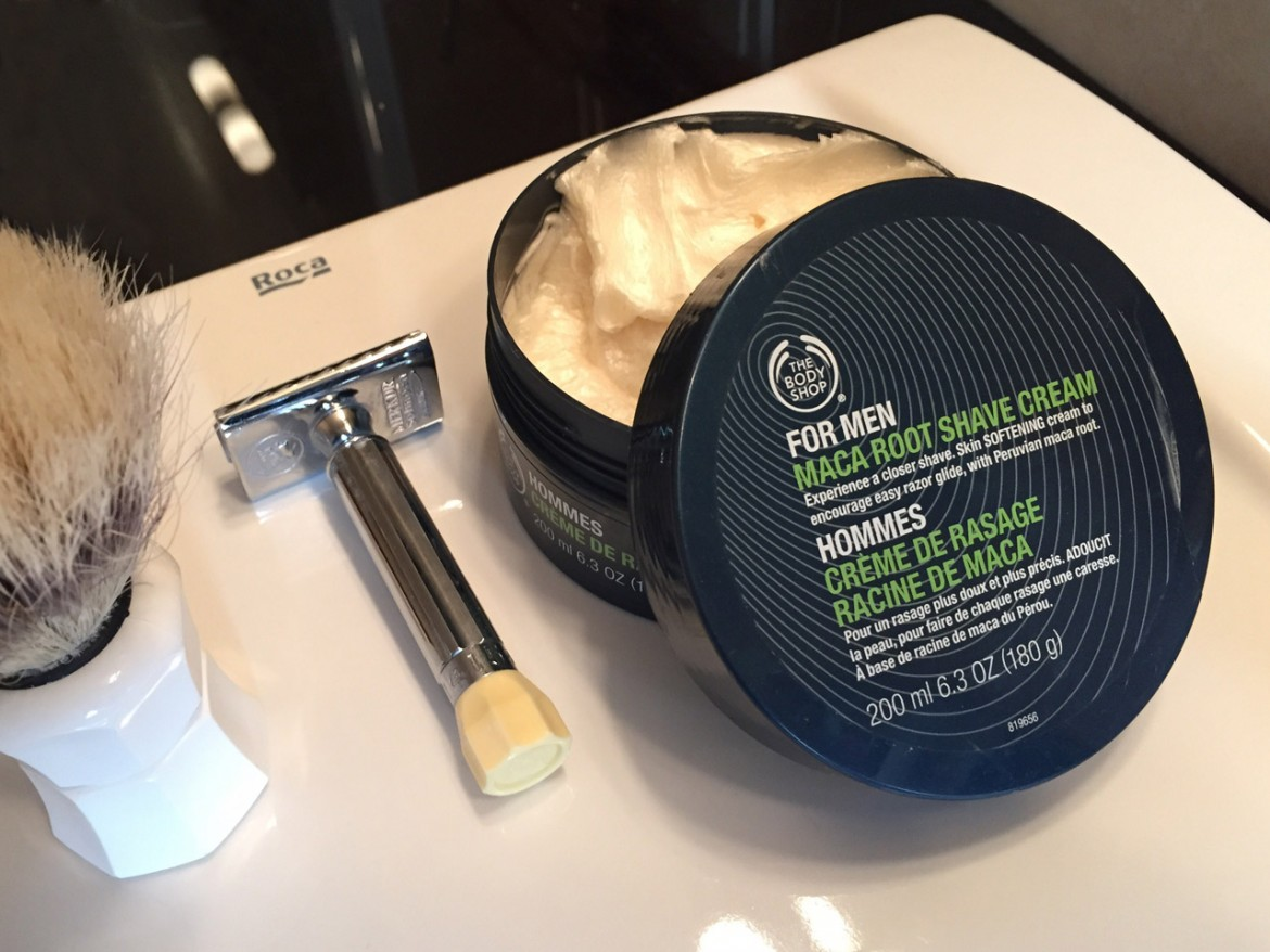 The Body Shop Maca Root Shave Cream – recenzja kremu do golenia