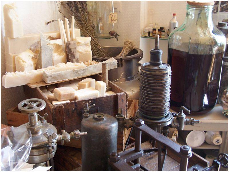 Firmowe muzeum mydlarstwa