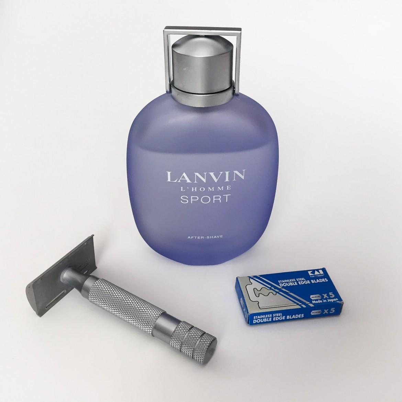 Flakon z wodą po goleniu Lanvin L'Homme Sport After-Shave