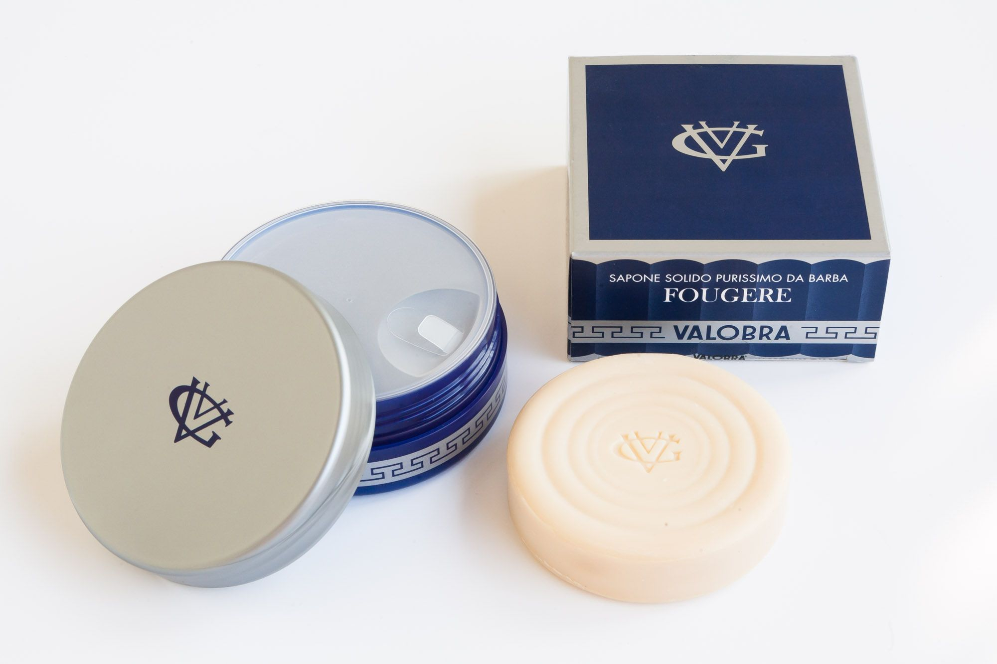 Mydło do golenia Valobra Fougere – zawartość opakowania