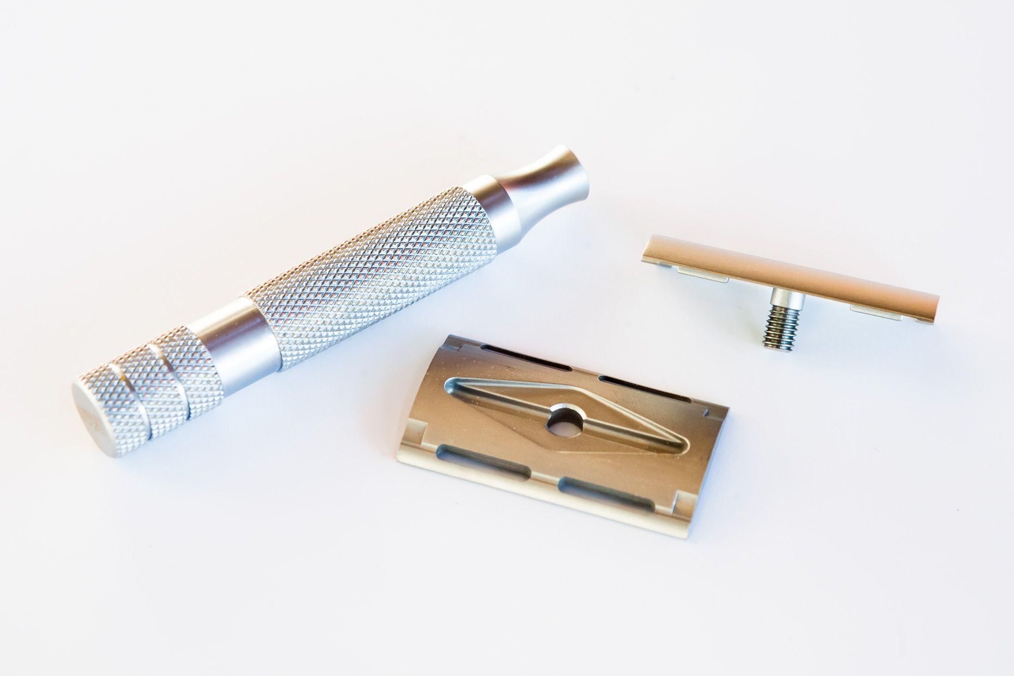 Maszynka iKon Standard Bar po rozłożeniu na części