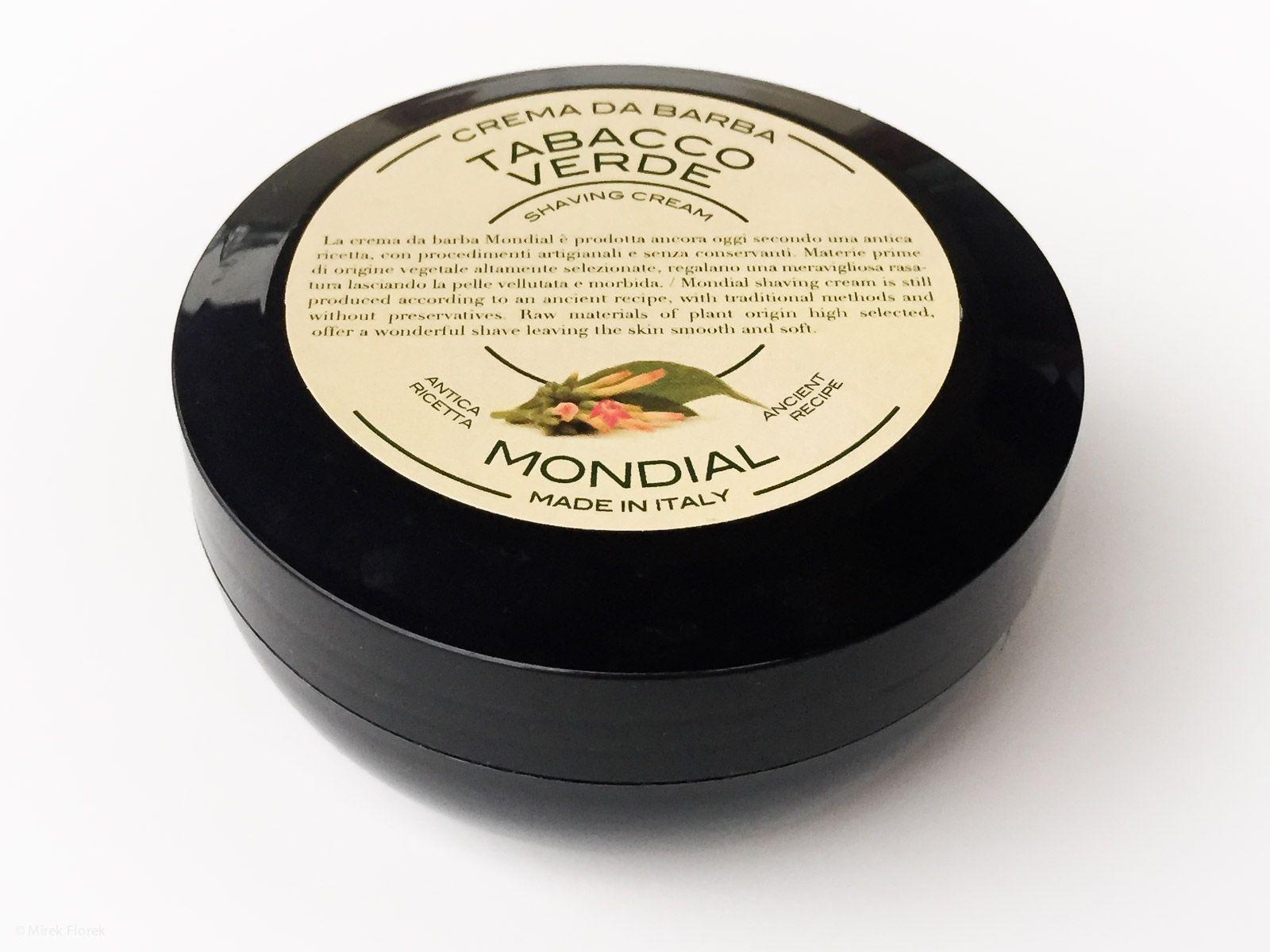 Krem do golenia Mondial Crema da Barba Tabacco Verde (Shaving Cream)