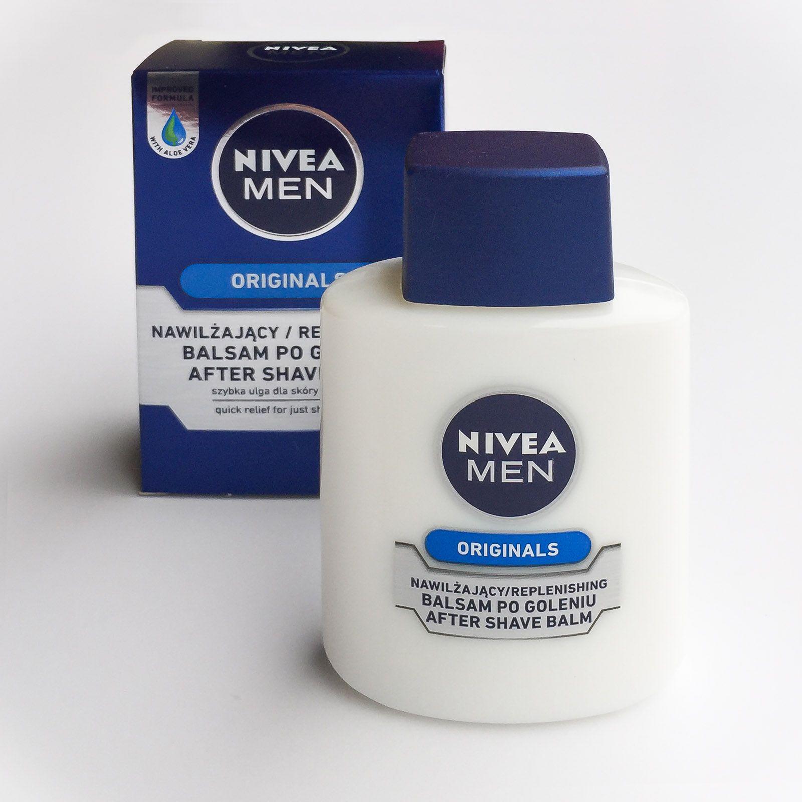 Opakowanie nawilżającego balsamu po goleniu NIVEA