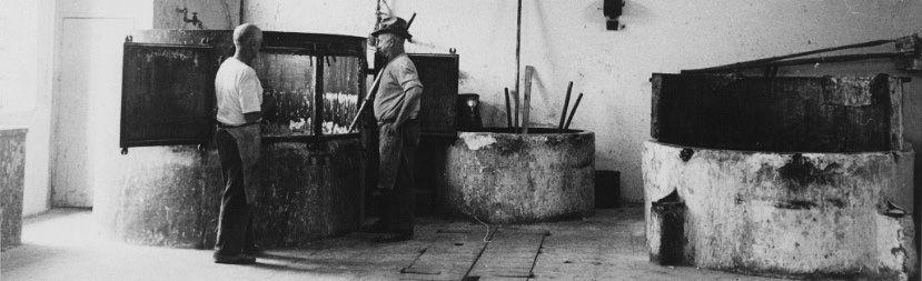 Produkcja mydła Valobra (zdjęcie z materiałów producenta)