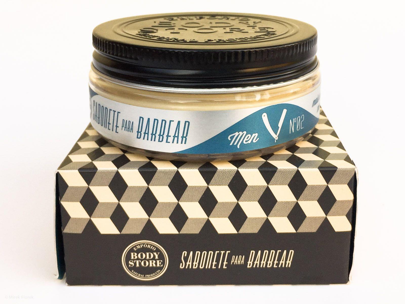 Opakowanie mydła do golenia The Body Store Sabonete para Barbear