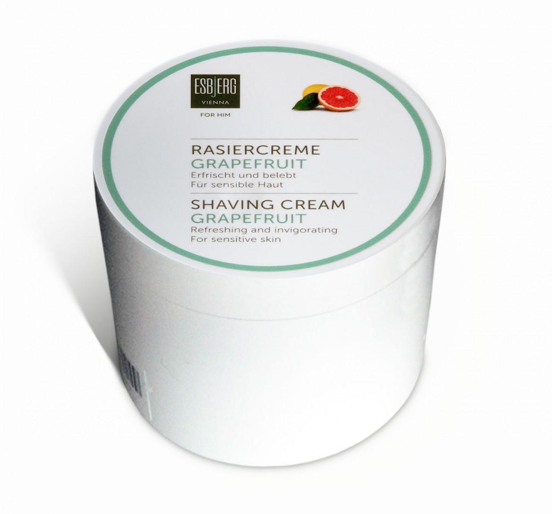 Opakowanie kremu do golenia Esbjerg Vienna Rasiercreme Grapefruit