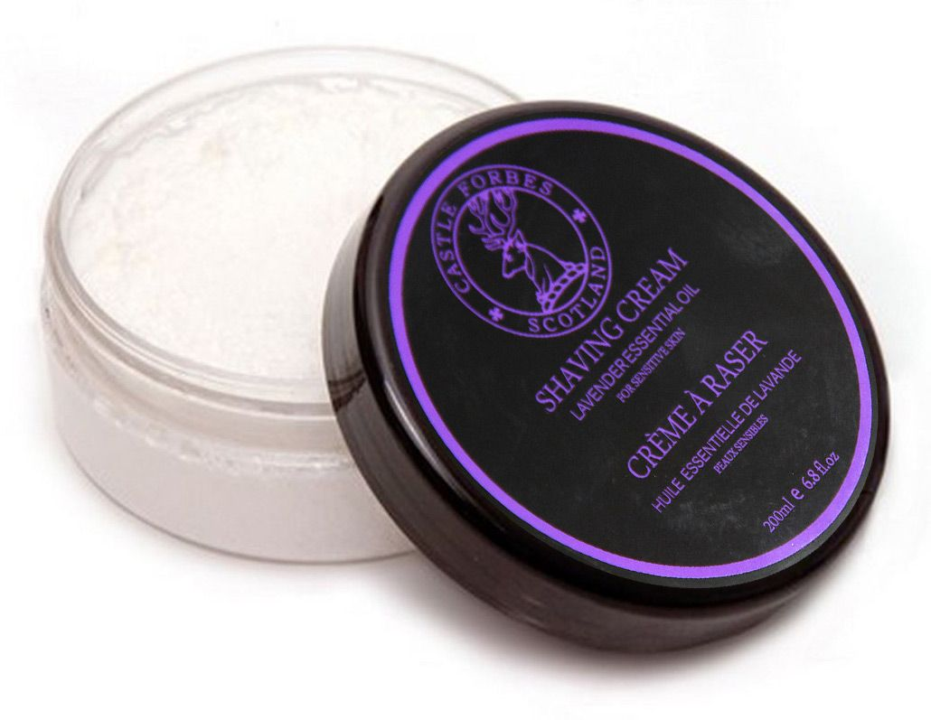 Krem do golenia Castle Forbes Lavender Shaving Cream