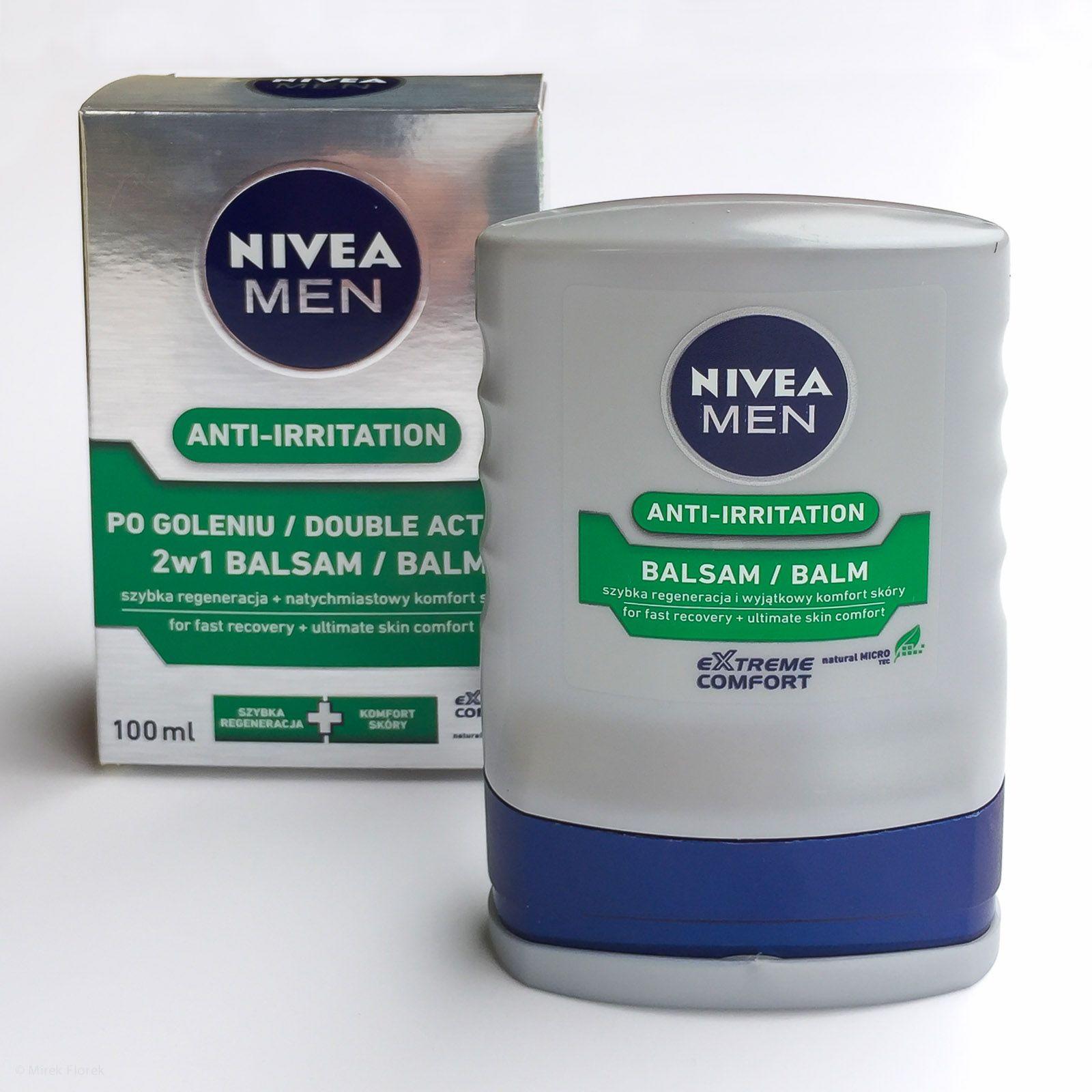 Opakowanie balsamu po goleniu Nivea Men Anti-Irritation After Shave Balm