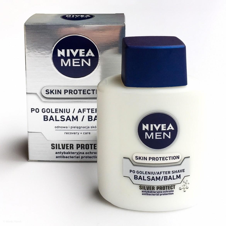 Opakowanie balsamu po goleniu Nivea Men Silver Protect Aftershave Balm