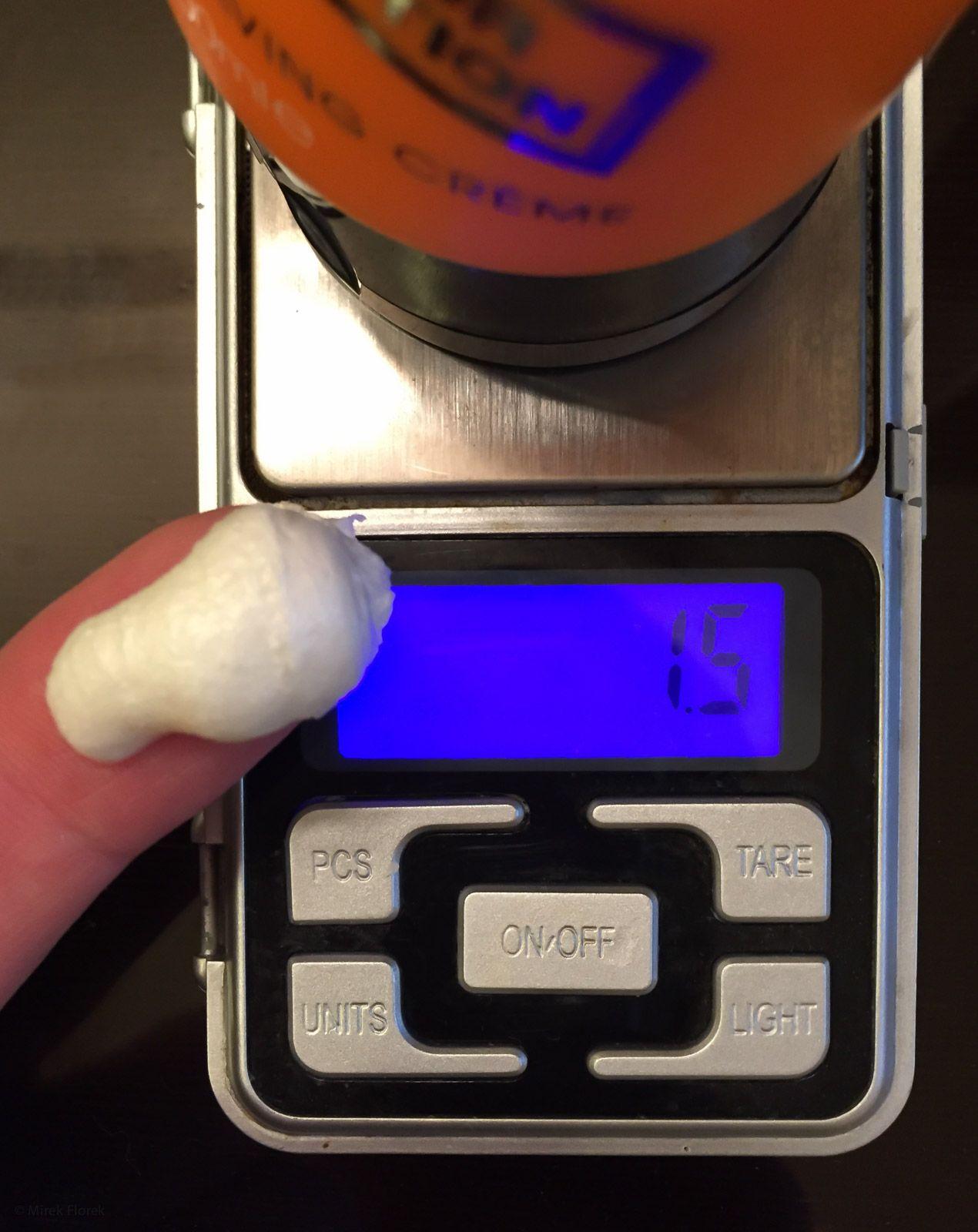 Porcja kremu do golenia The Shavedoctor Ultimate Shaving Creme