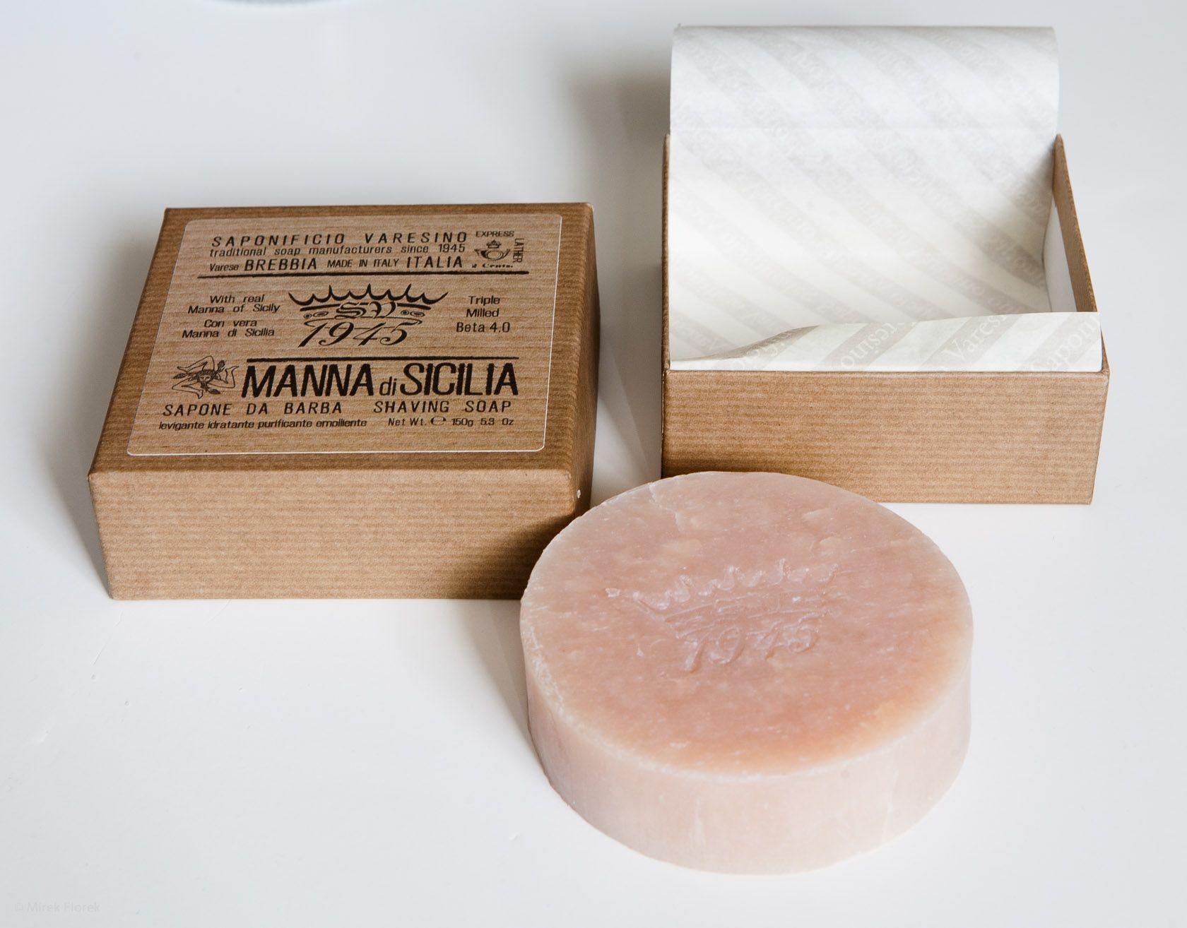 Mydło do golenia Saponificio Varesino Manna di Sicilia