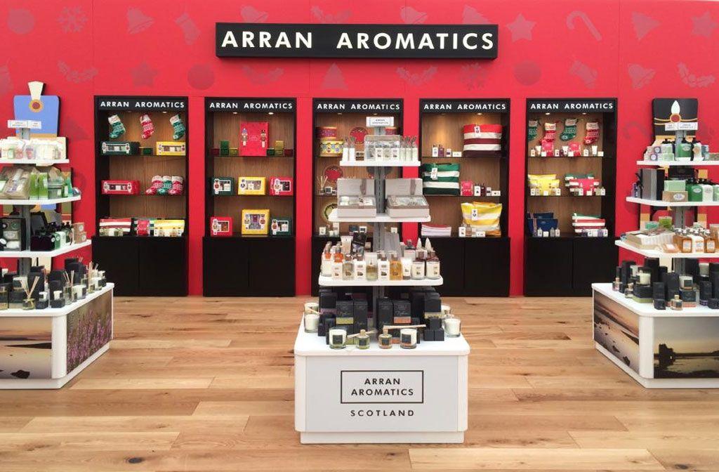 Salon Arran Aromatics (zdjęcie Arran Aromatics)