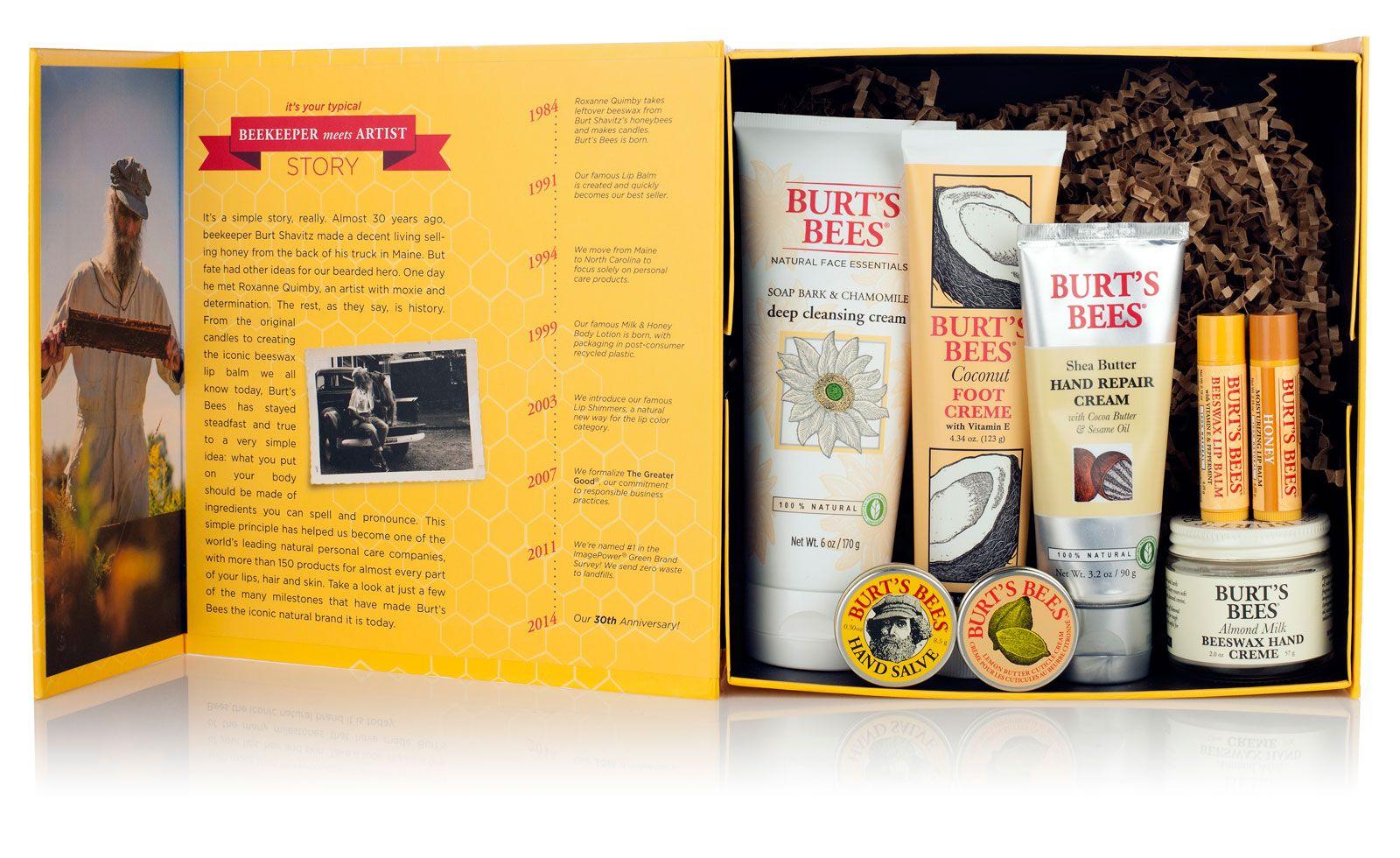 Zestaw kosmetyków Burt's Bees (zdjęcie Burt's Bees)