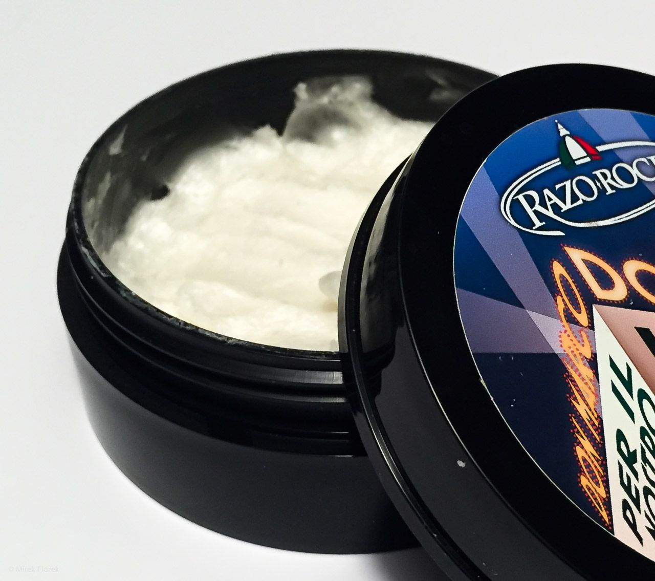 Konsystencja mydła RazoRock Don Marco