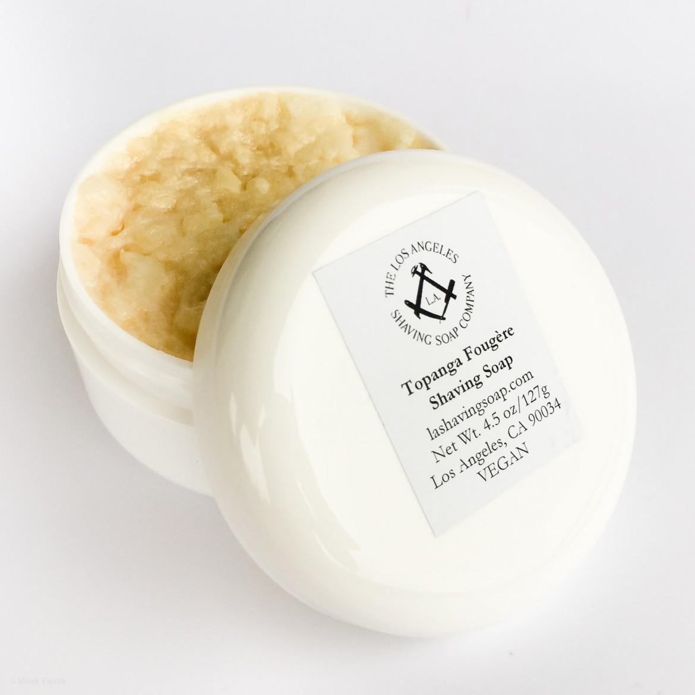Mydło do golenia Los Angeles Topanga Fougère Shaving Soap