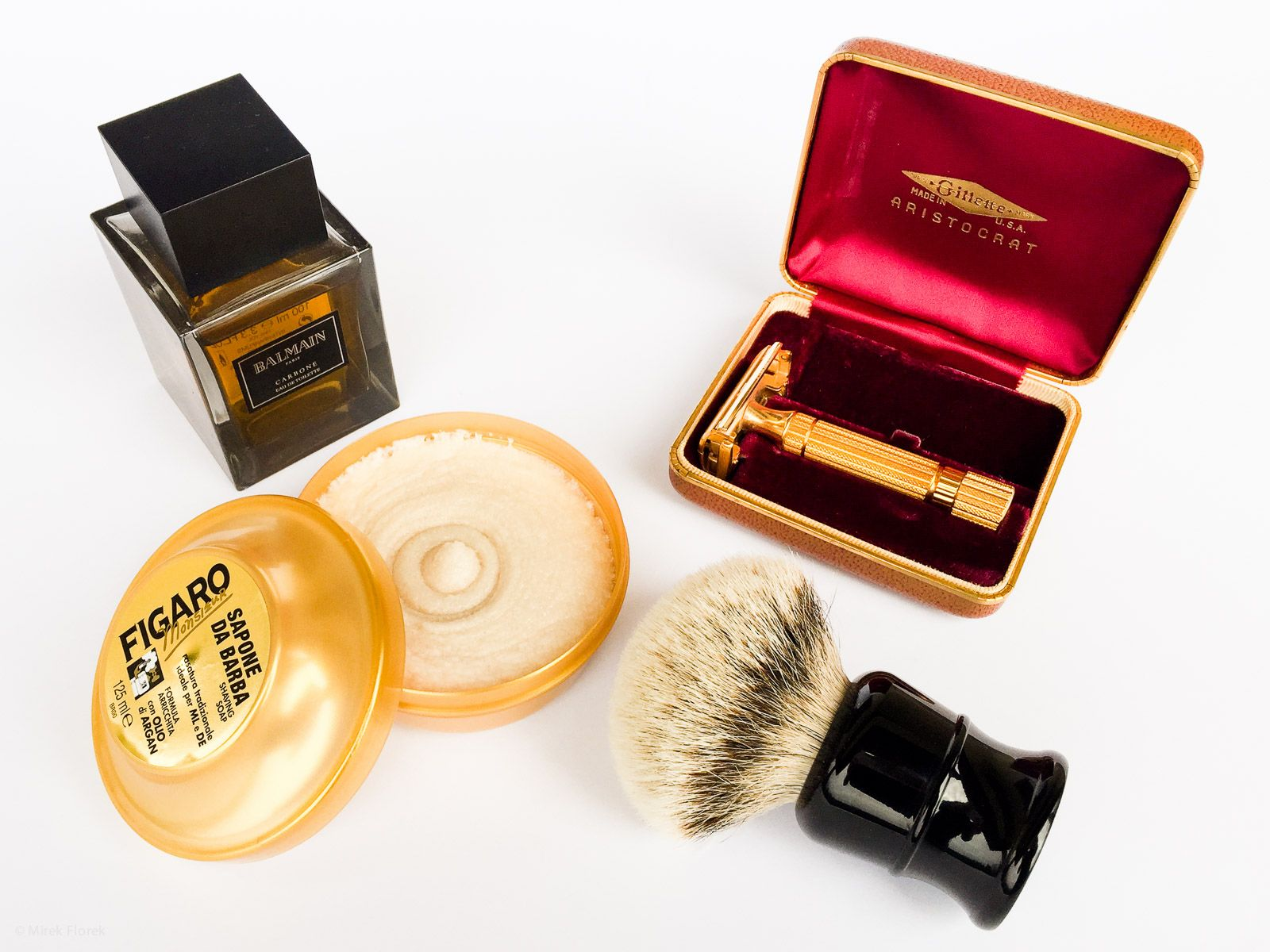 SOTD – Shave of the Day – Gold Shaving