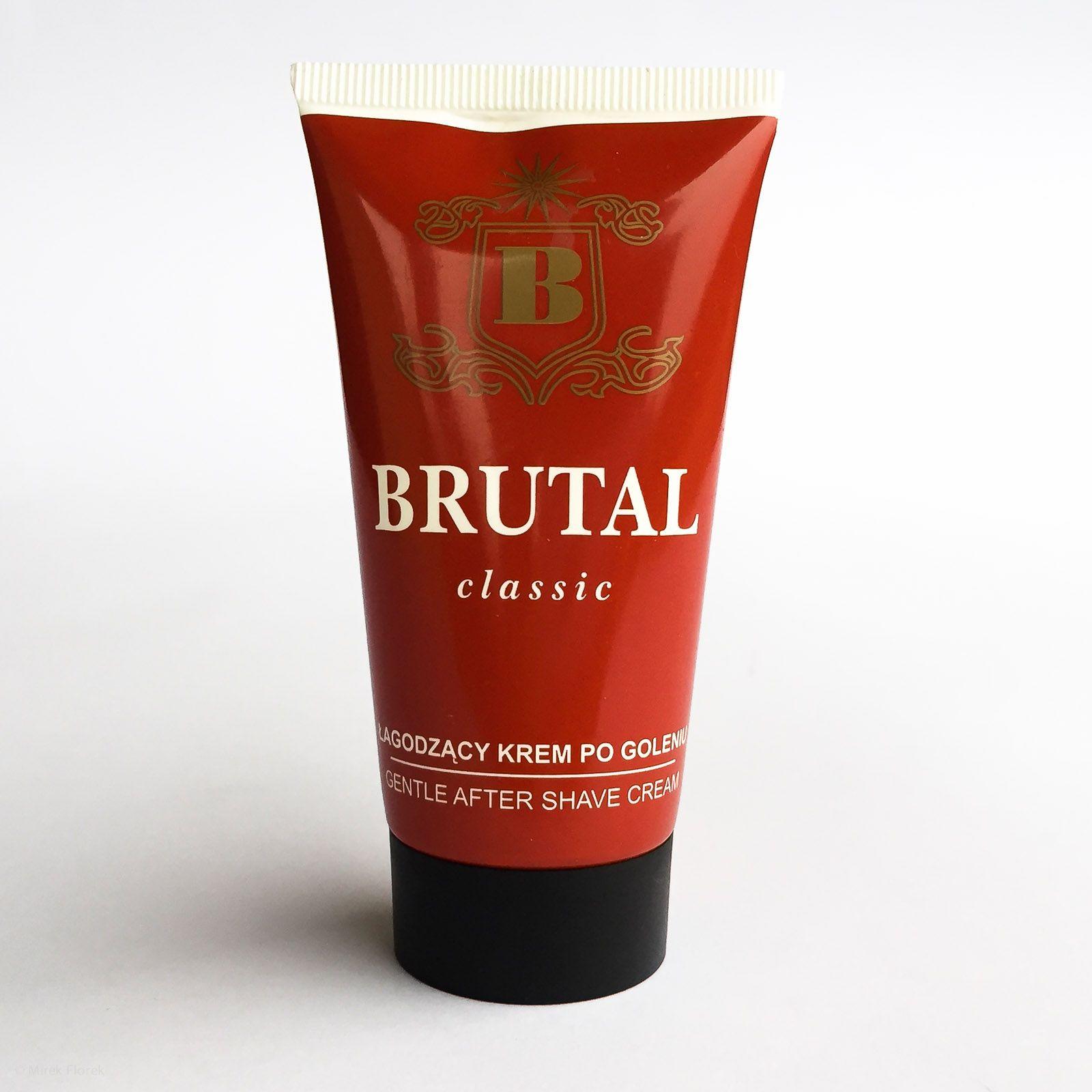 Łagodzący krem po goleniu Brutal Classic