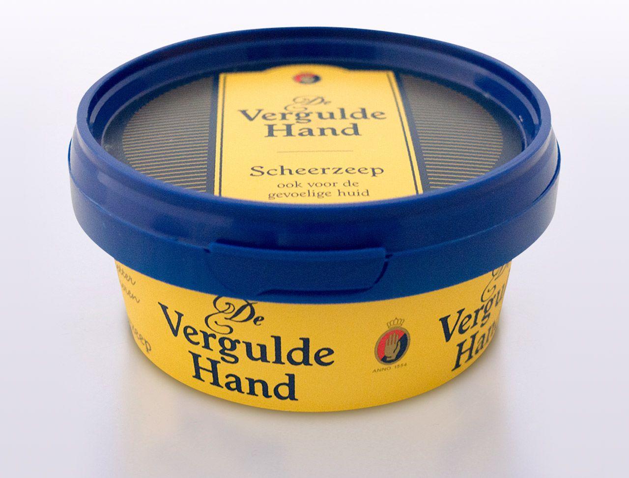 Opakowanie mydła do golenia De Vergulde Hand Scheerzeep