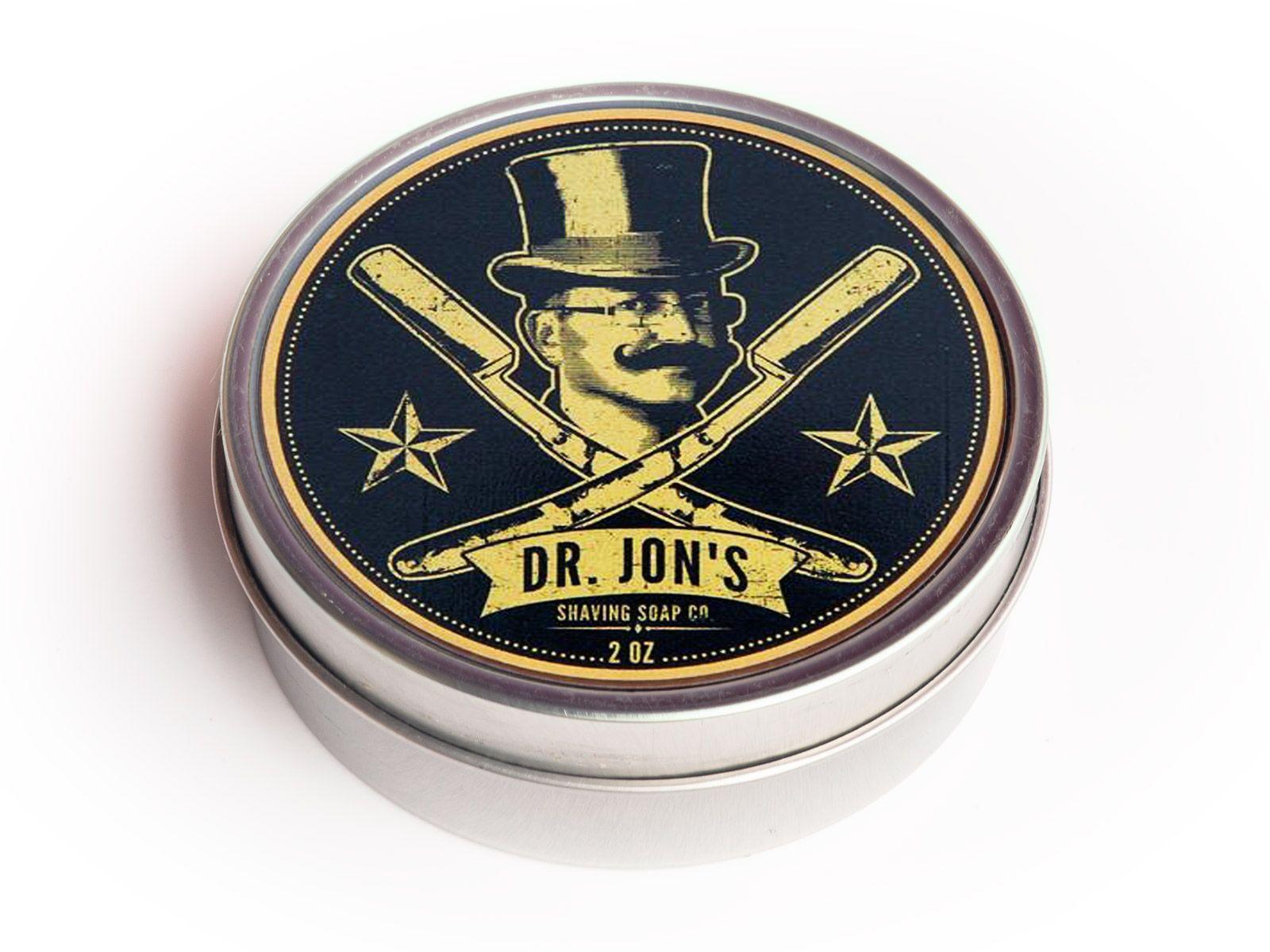 Mydło do golenia Dr. Jon's Black Label