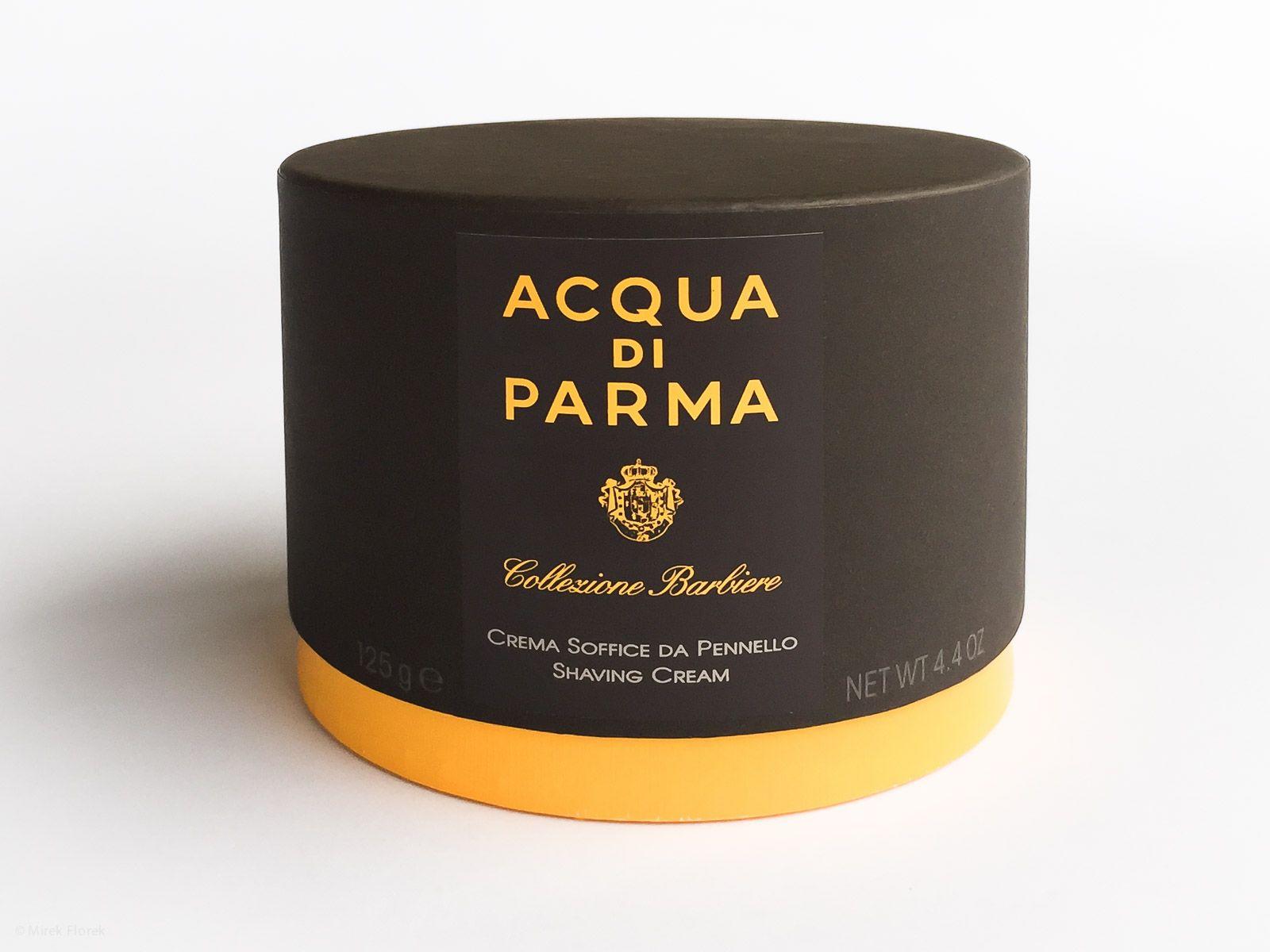 Pudełko z kremem do golenia Acqua di Parma Collezione Barbiere