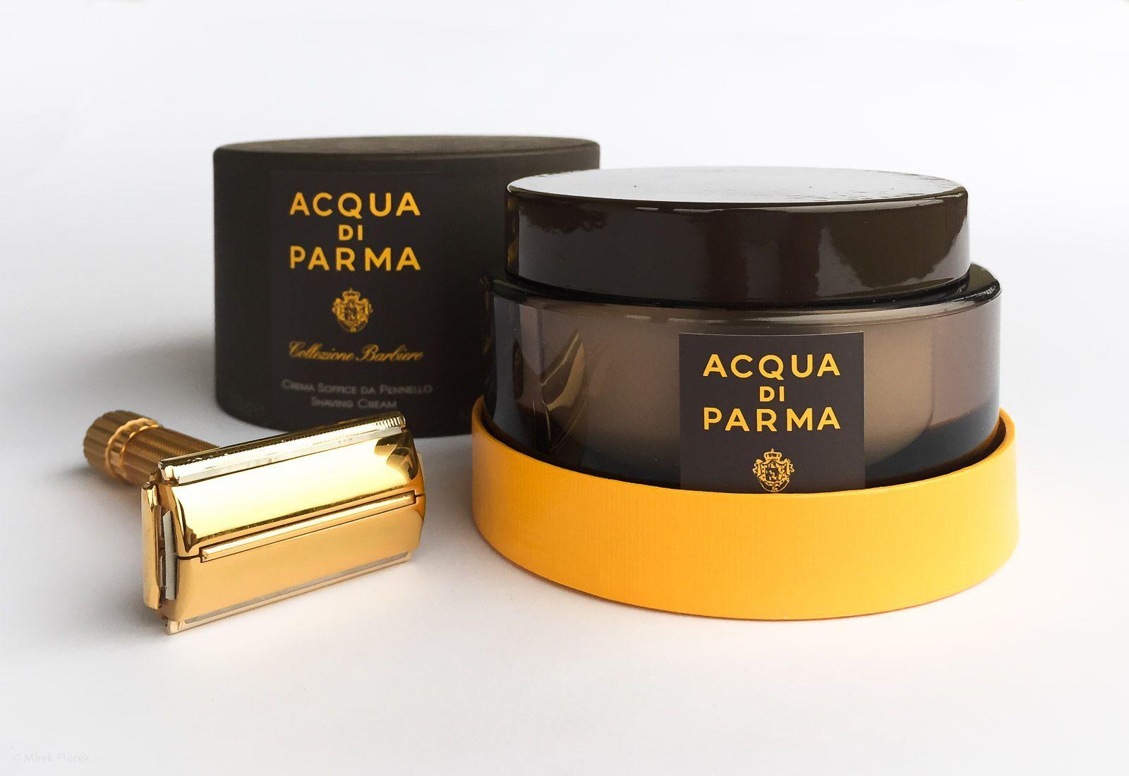 Opakowanie kremu do golenia Acqua di Parma Colezzione Berbiere
