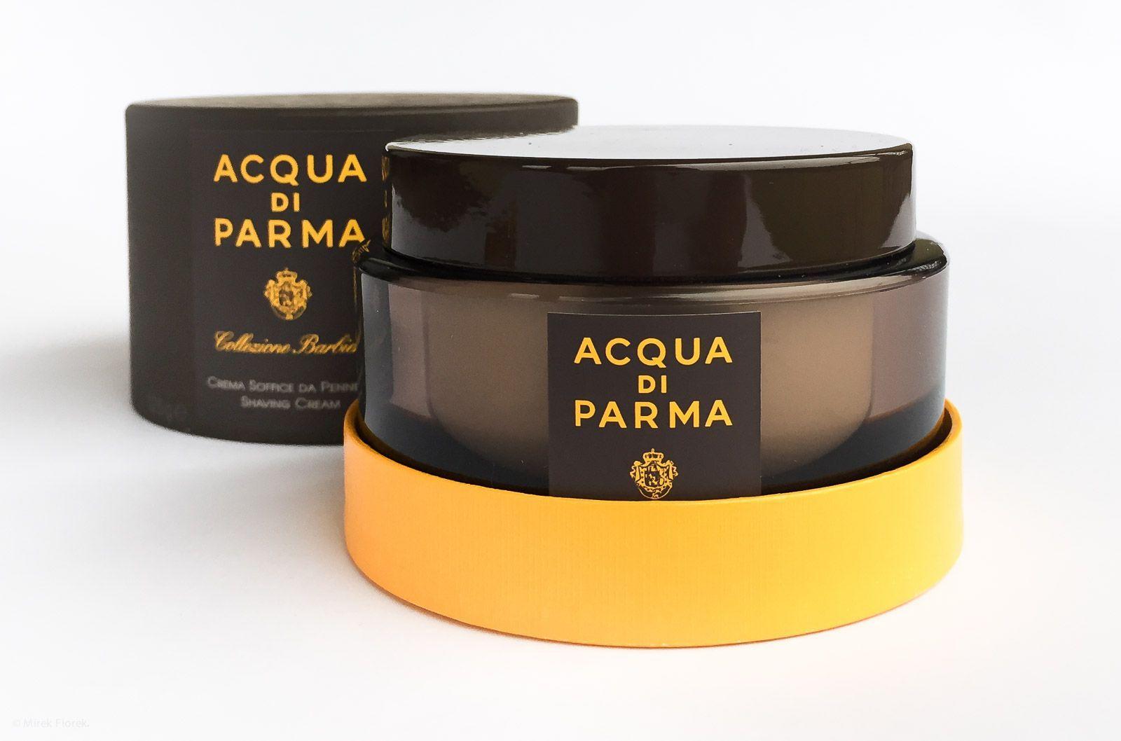 Opakowanie kremu do golenia Acqua di Parma Collezione Barbiere