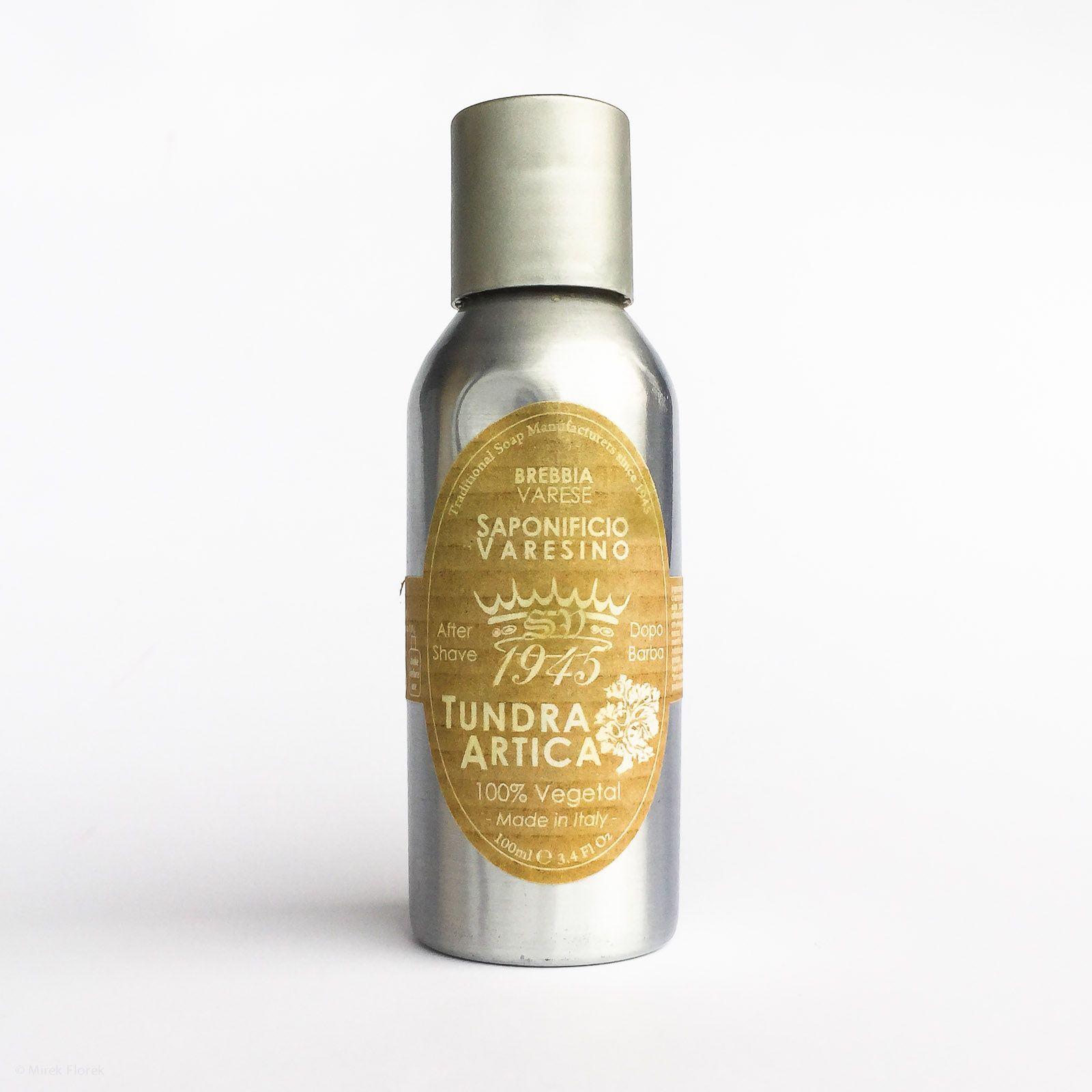 Opakowanie balsamu po goleniu Saponificio Varesino Tundra Artica