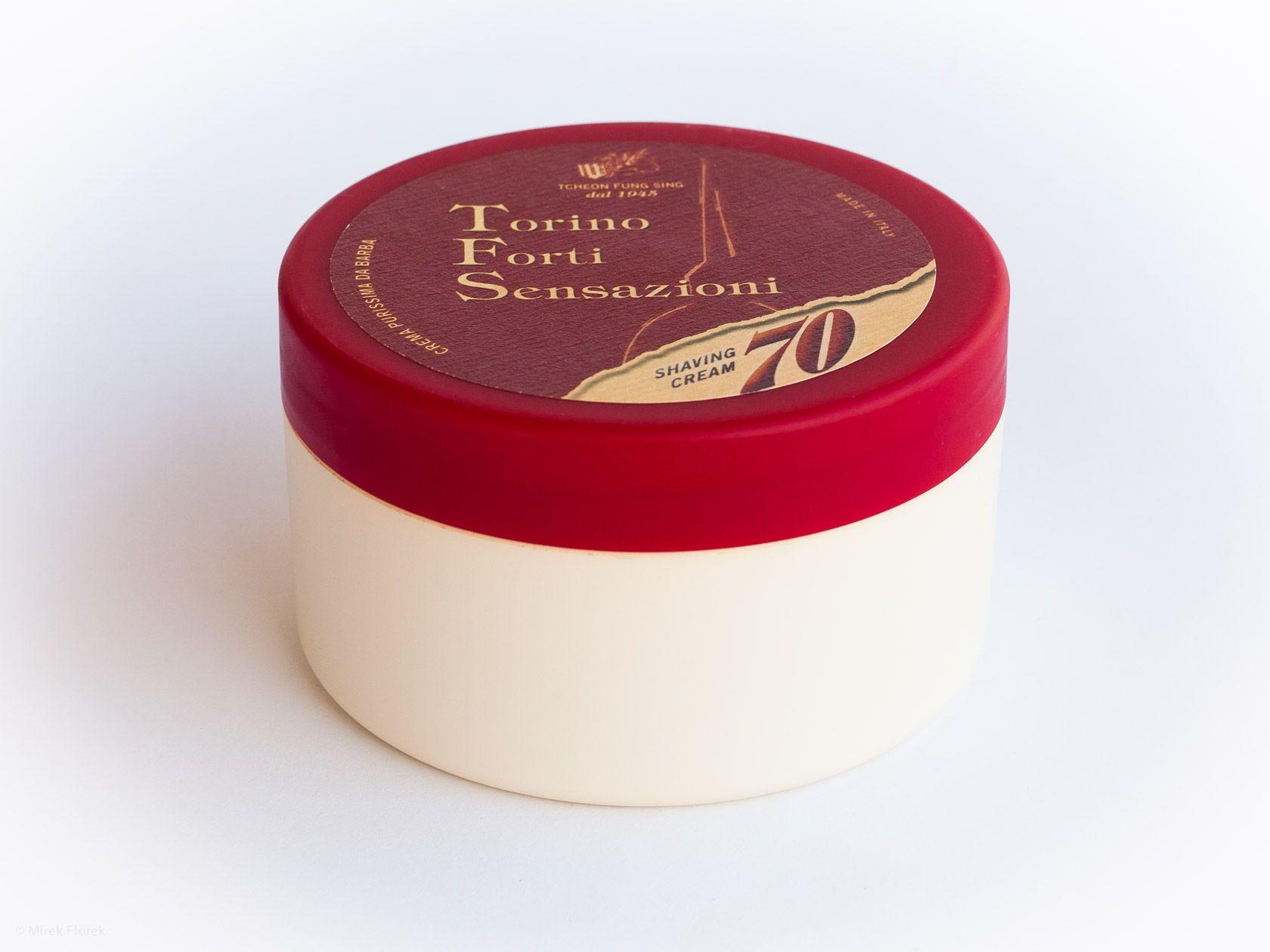 Opakowanie kremu do golenia Tcheon Fung Sing 70th Anniversary Corte Sabauda