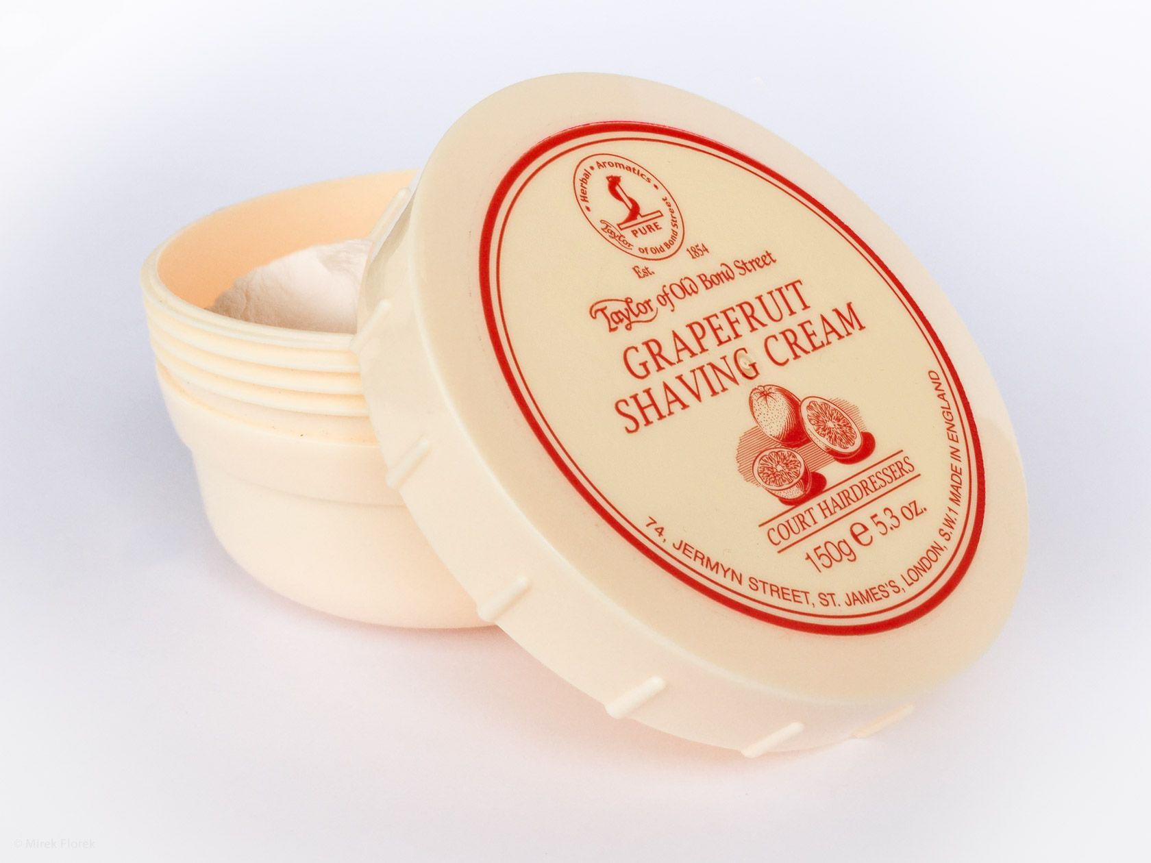 Krem do golenia Taylor of Old Bond Street Grapefruit Shaving Cream