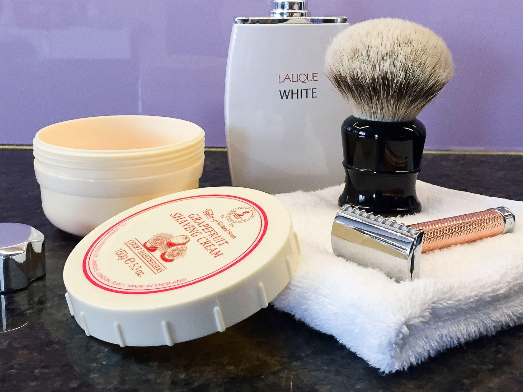 Golenie z użyciem Taylor of Old Bond Street Grapefruit Shaving Cream