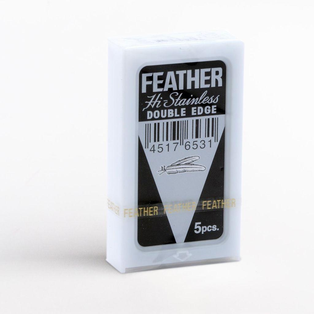 Żyletki Feather pochodzące z oficjalnej, europejskiej dystrybucji