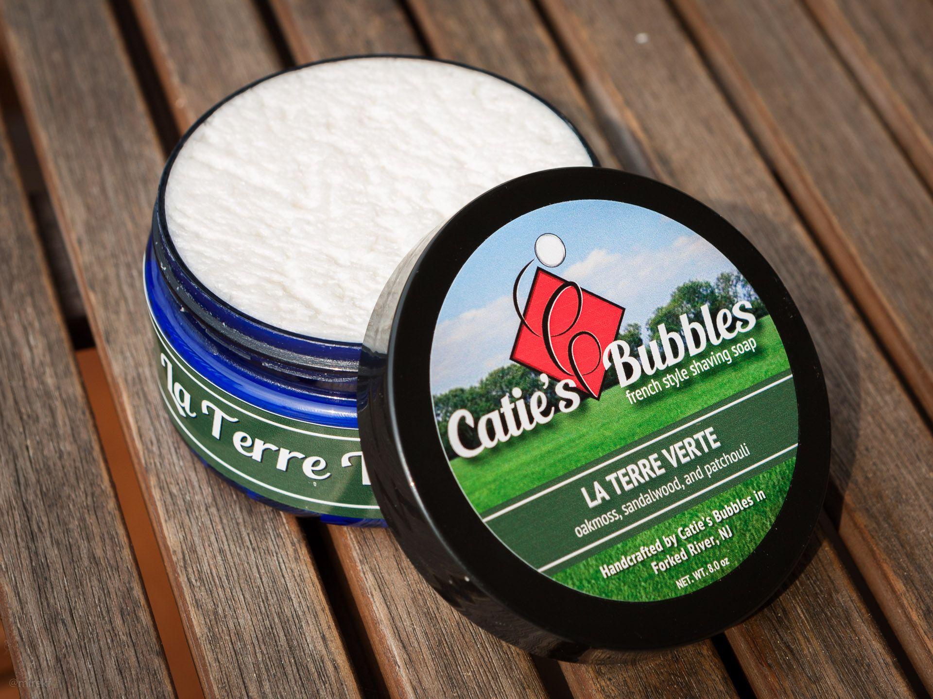 Mydło do golenia Catie's Bubbles La Terre Verte