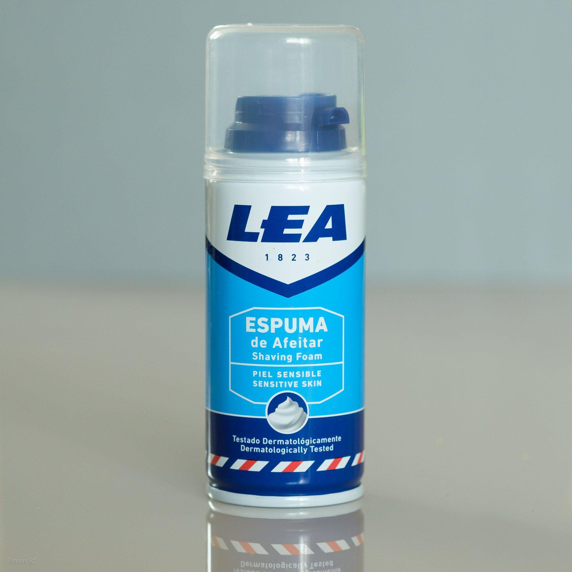 Puszka pianki do golenia LEAPiel Sensible Espuma de Afeitar