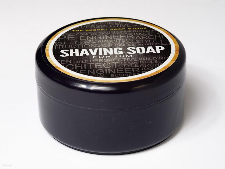 Opakowanie mydła do golenia Scandia The Secret Shop Shaving Soap
