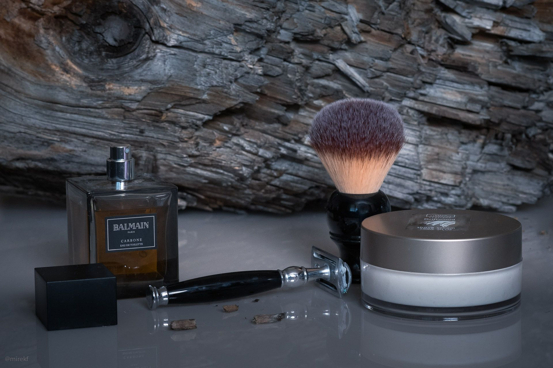 SOTD – Dry, woody shave with Arran Aromatics Shaving Cream