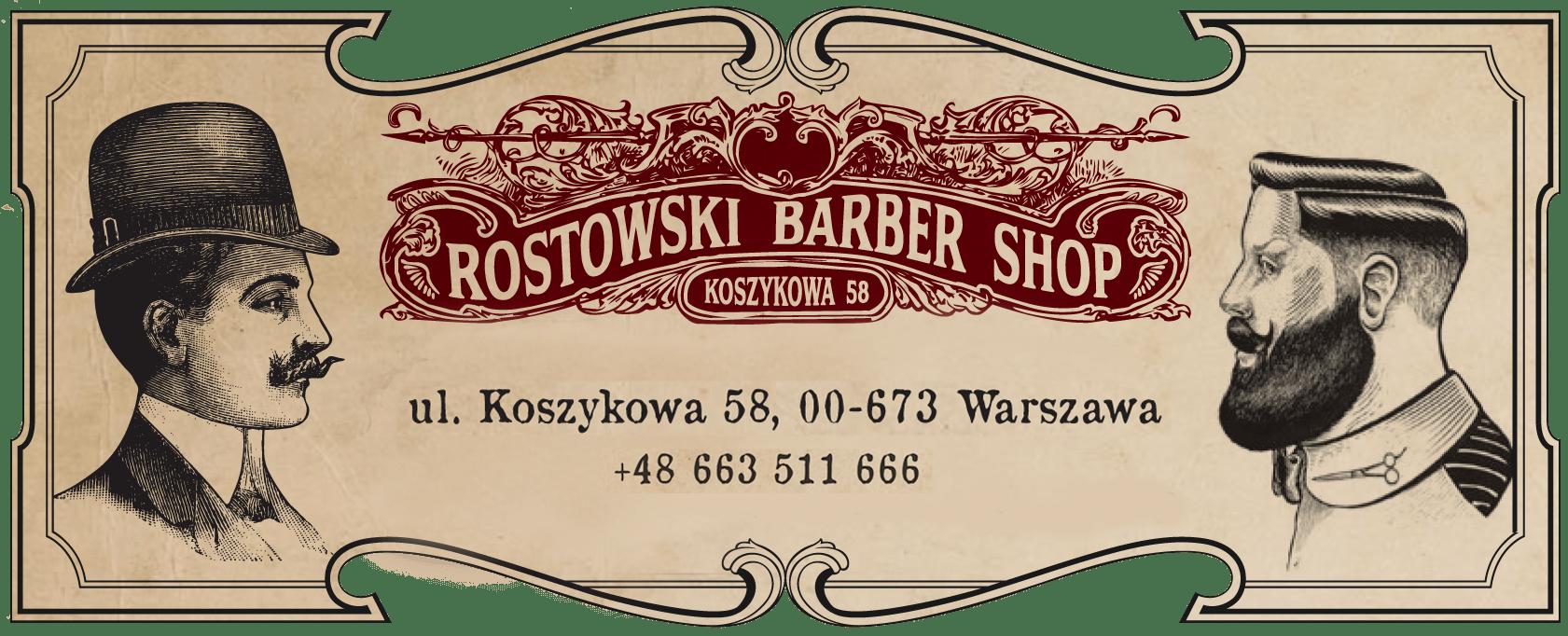 rostowski-barber-logo