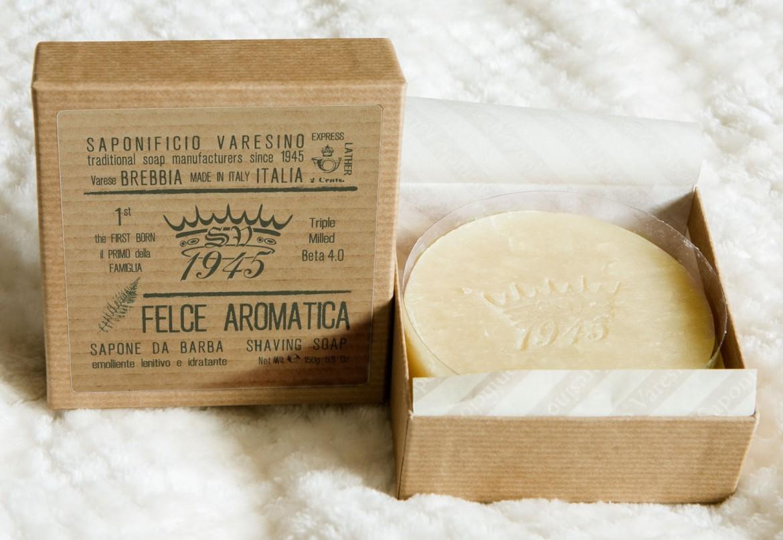 Mydło do golenia Saponificio Varesino Felce Aromatica