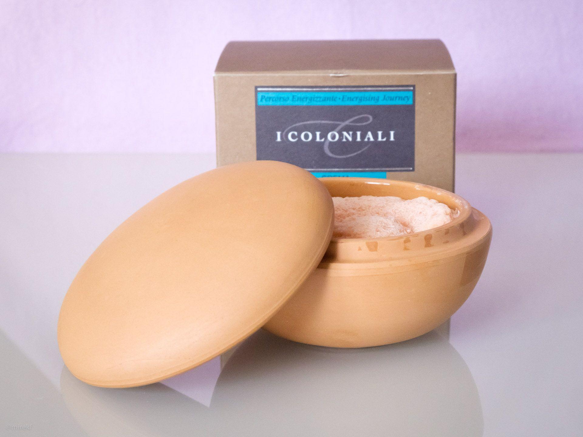Konsystencja mydła do golenia I Coloniali Mango Crema per la Rasatura