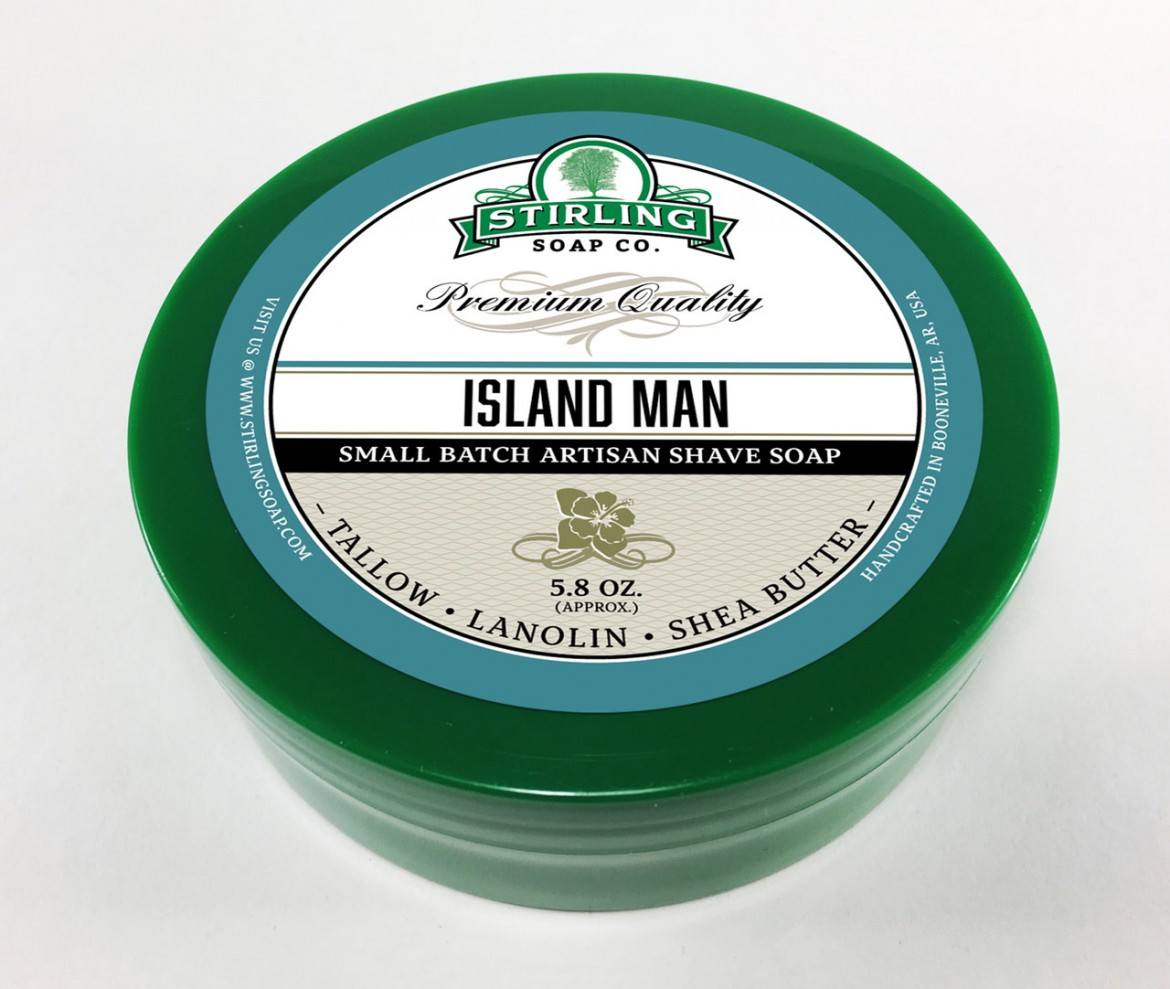 Mydło do golenia Stirling Island Man Shaving Soa