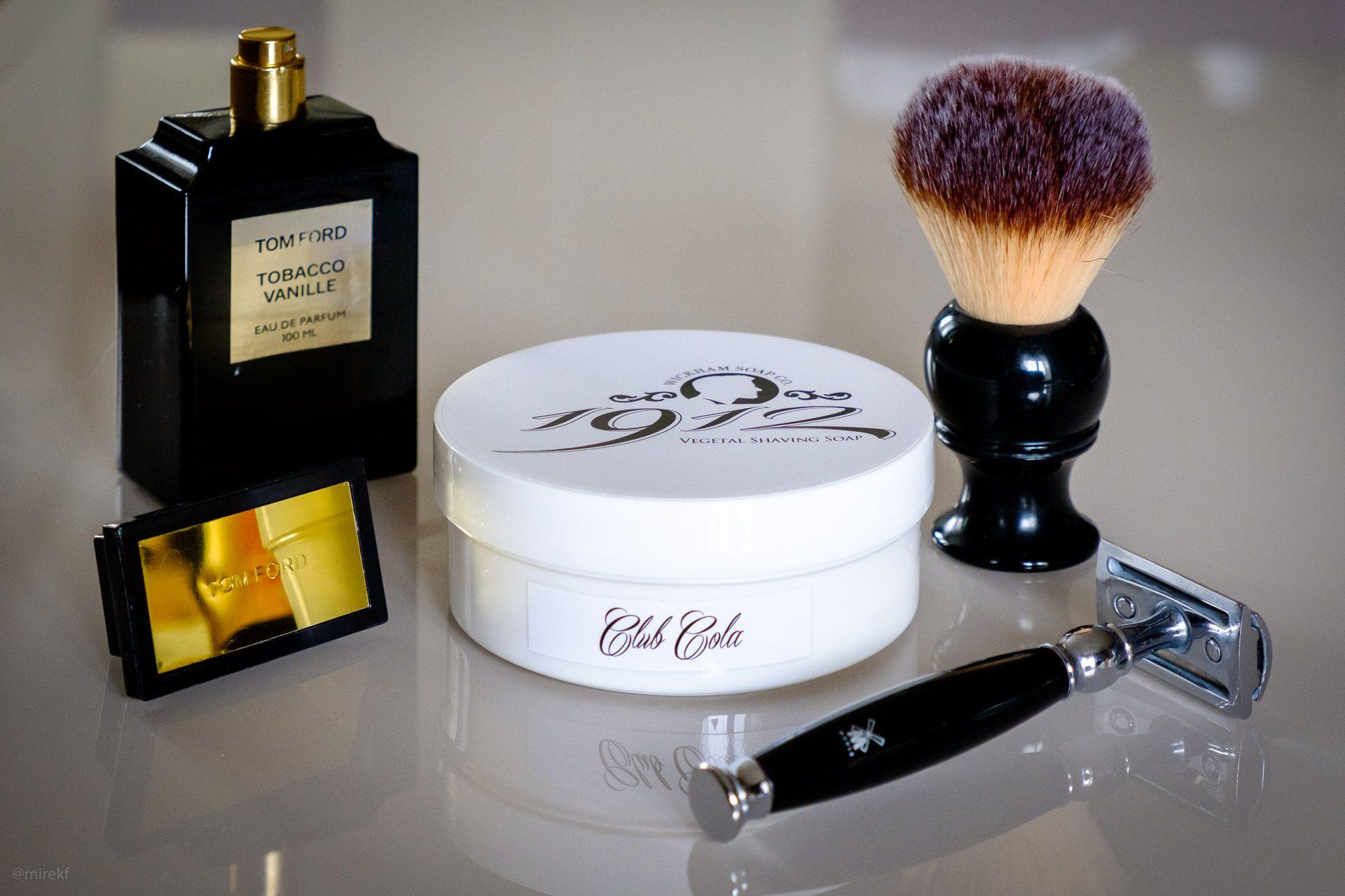 Opakowanie mydła do golenia Wickham Club Cola Shaving Soap