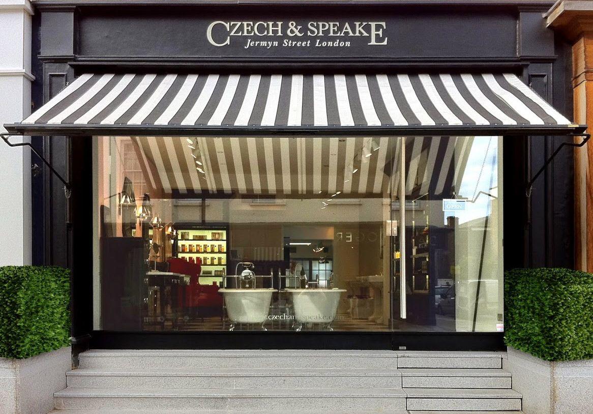 Sklep Czech & Speake w Londynie