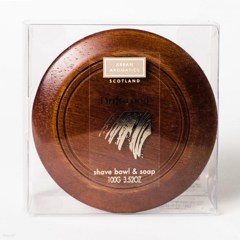 Opakowanie mydła do golenia Arran Aromatics Driftwood Shaving Soap