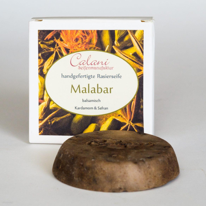 Mydło do golenia Calani Malabar