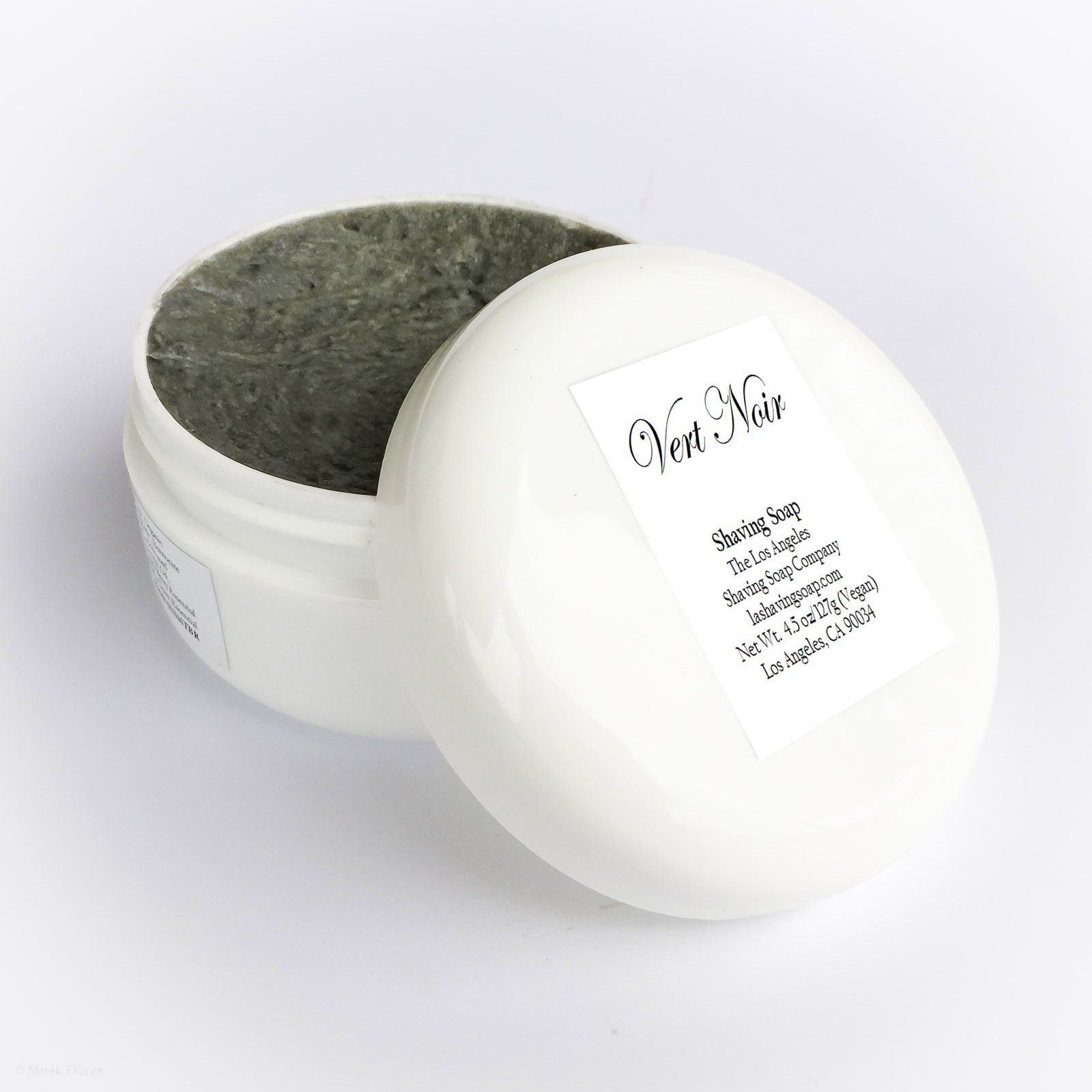 Opakowanie mydła do golenia Los Angeles Vert Noir Shaving Soap