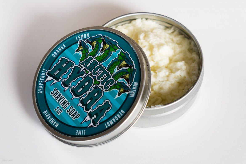 Konsystencja mydła do golenia Dr. Jon's Arctic Hydra Shaving Soap