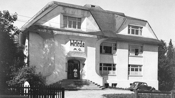 Pierwsza siedziba firmy Weleda