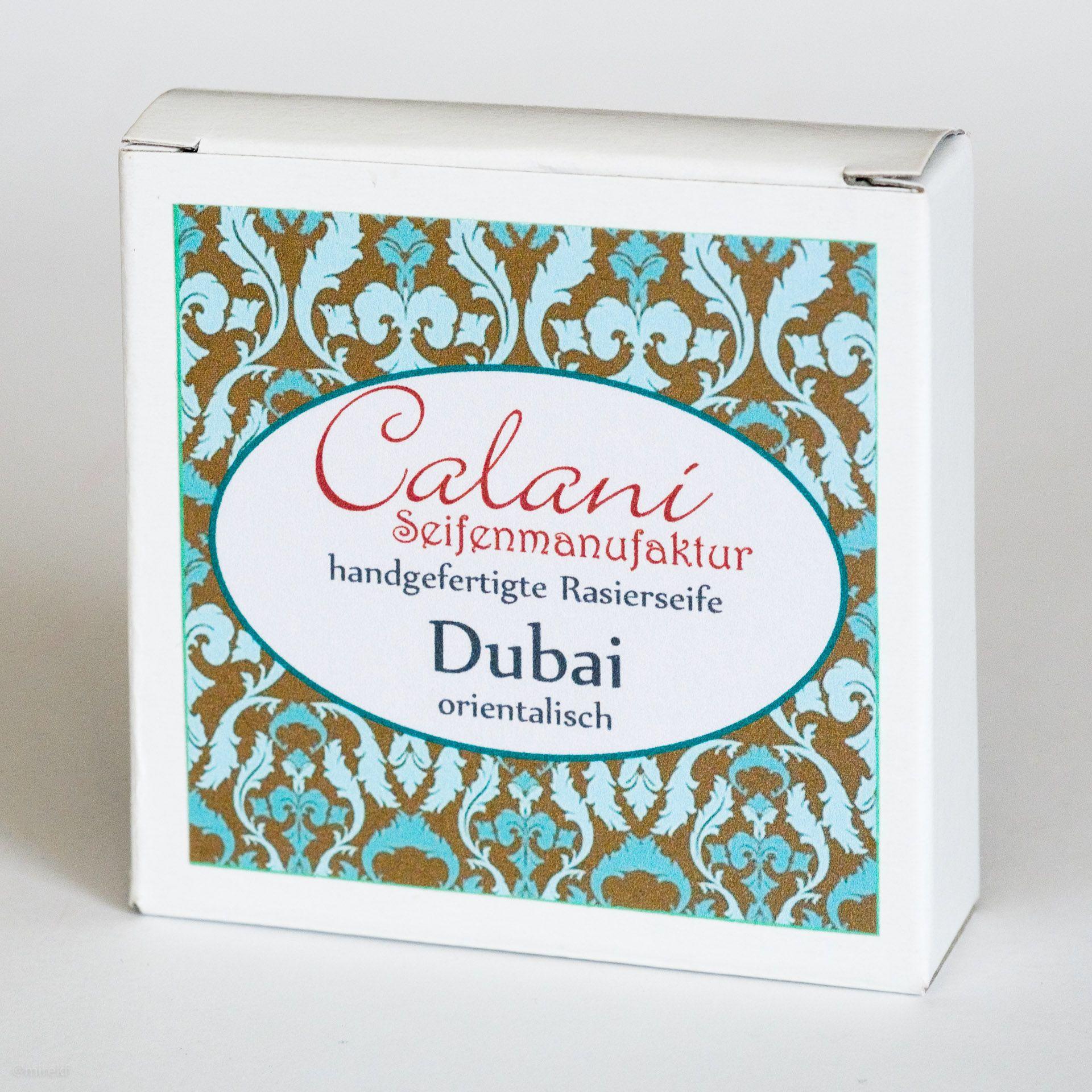 Opakowanie mydła do golenia Calani Dubai Rasierseife